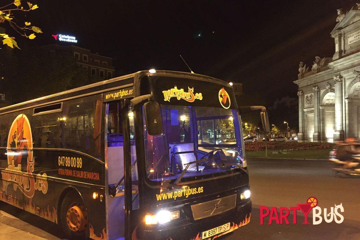 discobus Madrid