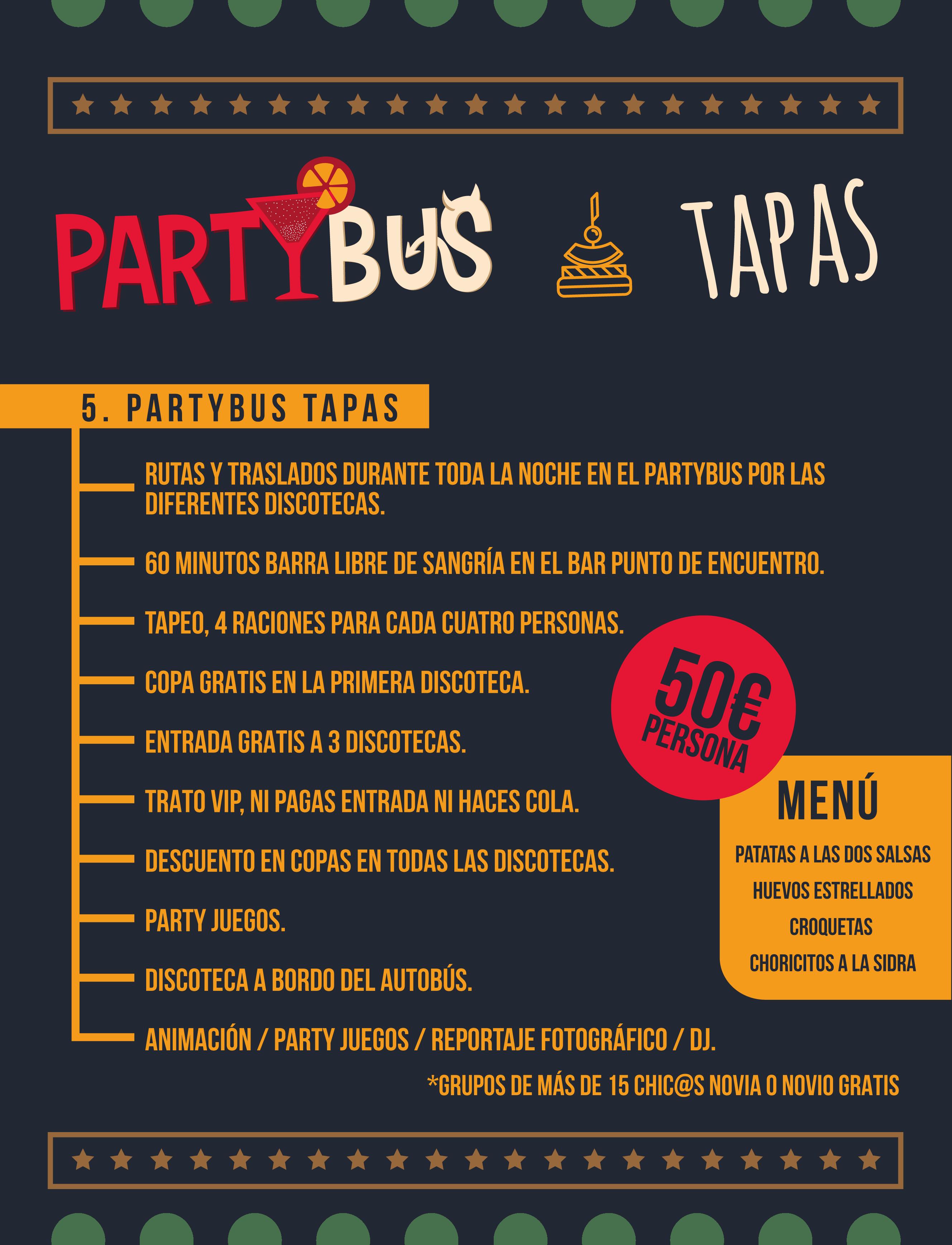 Partybus Tapas