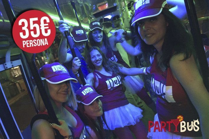 pack partybus noche