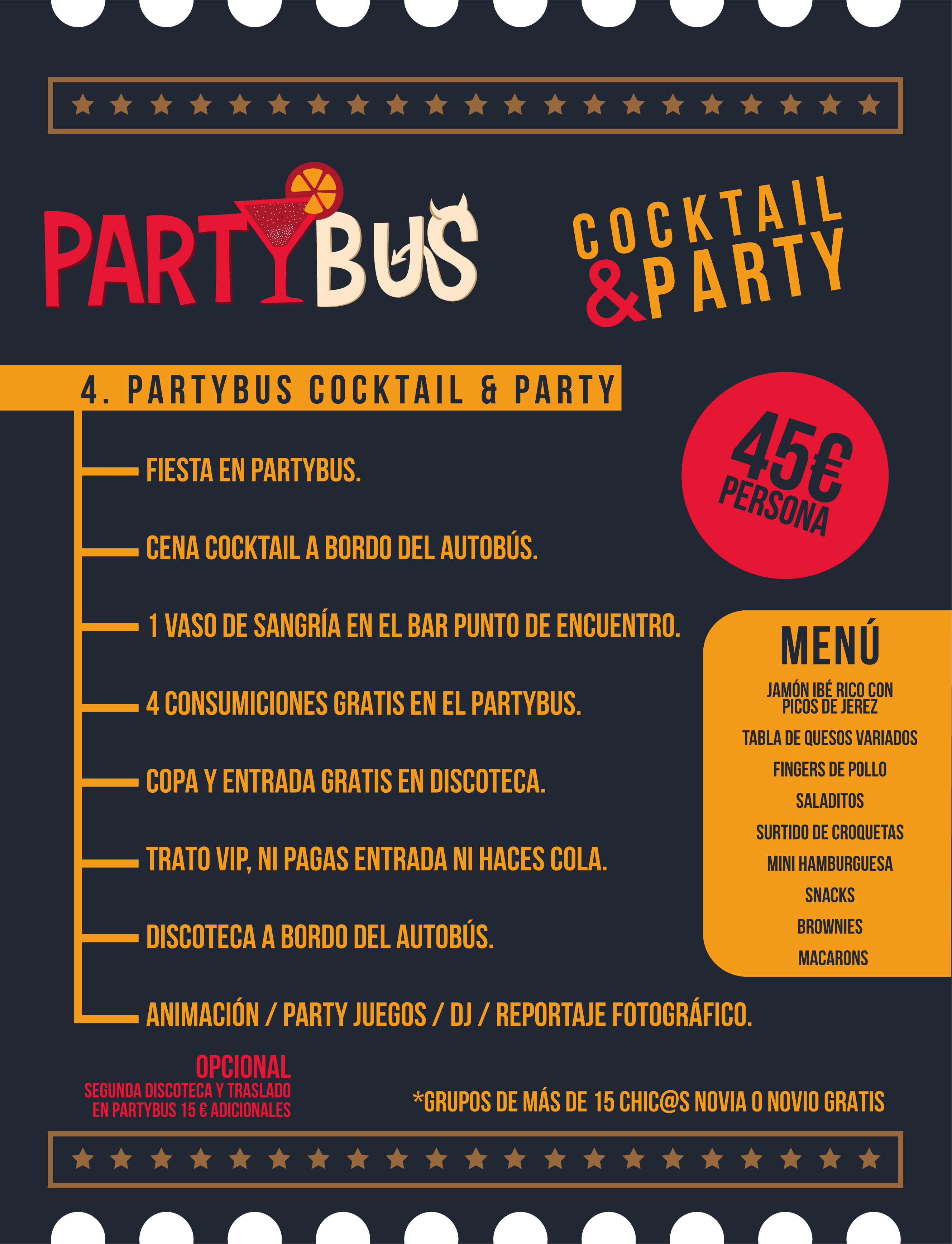 COCKTAIL AND PARTY