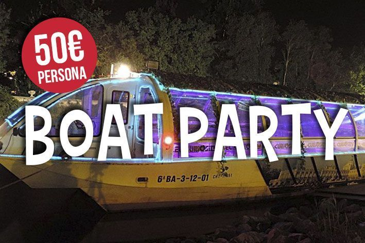 Boat Party Madrid