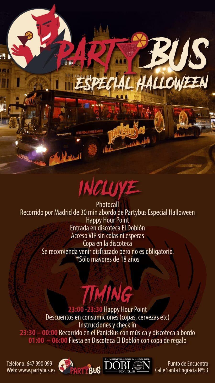 Partybus Especial Halloween
