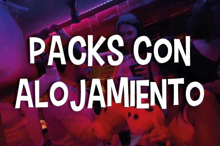 Packs con Alojamiento