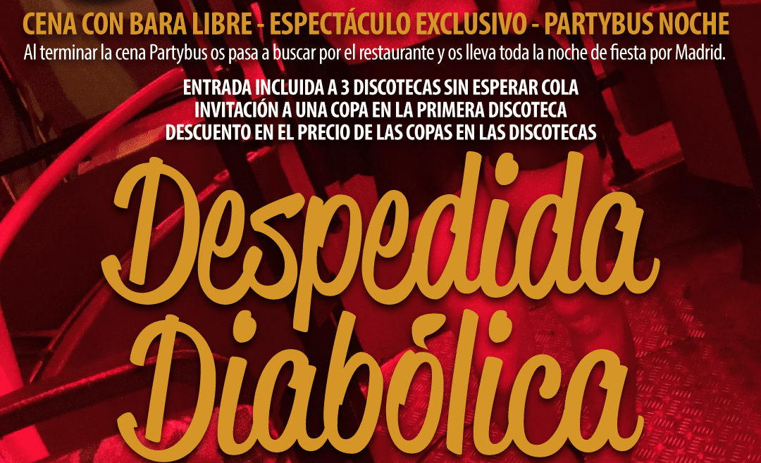 DESPEDIDA DIABOLICA